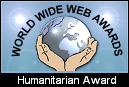 WorldWebWebAwards.net Humanitarian Award Winner