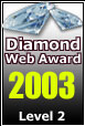 2003-2004 Level 2 Diamond Web Award Winner